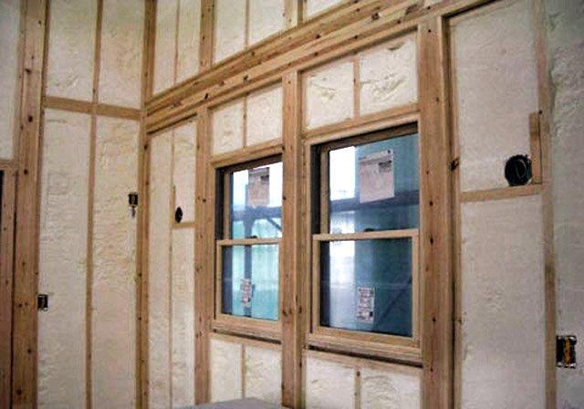 New Construction Spray Tight Spray Foam Insulation