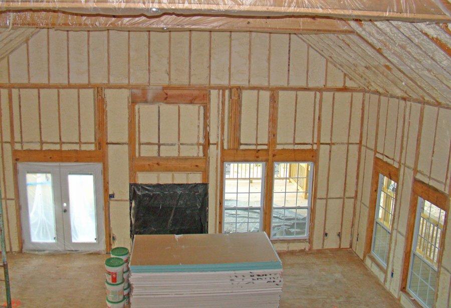 New Construction Spray Foam Insulation
